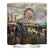 State Fair Of Oklahoma Shower Curtain