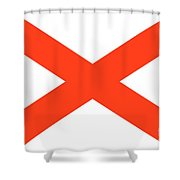 State Flag Of Alabama Shower Curtain