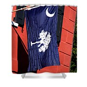 State Flag Of South Carolina Shower Curtain