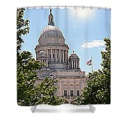 State House Shower Curtain