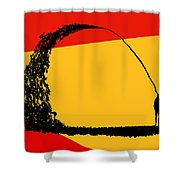 State Of Mind Shower Curtain