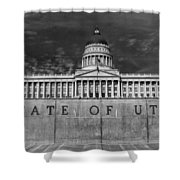 State Of Utah  Shower Curtain