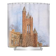 State Street Church Shower Curtain