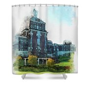 Stately Beauty Shower Curtain