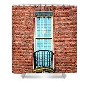 Stadshuset Window Shower Curtain