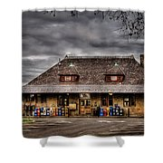 Station - Westfield Nj - The Train Station Shower Curtain
