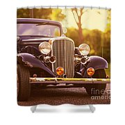Station Wagon Shower Curtain