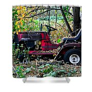 Stationary Ride Shower Curtain