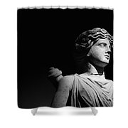 Statue Shower Curtain