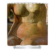Statue In The Nude Shower Curtain