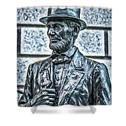 Statue Of Abraham Lincoln #7 Shower Curtain