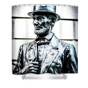 Statue Of Abraham Lincoln #8 Shower Curtain