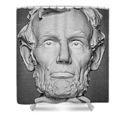 Statue Of Abraham Lincoln - Lincoln Memorial #6 Shower Curtain