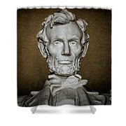 Statue Of Abraham Lincoln - Lincoln Memorial #7 Shower Curtain