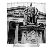 Statue Of King Edward Vii Shower Curtain
