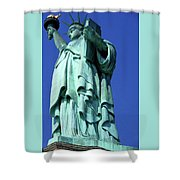 Statue Of Liberty 10 Shower Curtain