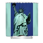 Statue Of Liberty 13 Shower Curtain