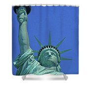 Statue Of Liberty 14 Shower Curtain