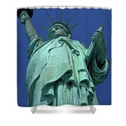 Statue Of Liberty 16 Shower Curtain