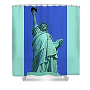 Statue Of Liberty 17 Shower Curtain