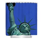 Statue Of Liberty 18 Shower Curtain