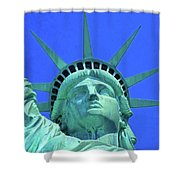 Statue Of Liberty 19 Shower Curtain