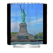 Statue Of Liberty 21 Shower Curtain