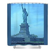 Statue Of Liberty 22 Shower Curtain