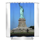 Statue Of Liberty 3 Shower Curtain