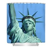 Statue Of Liberty 5 Shower Curtain