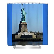 Statue Of Liberty 6 Shower Curtain