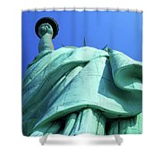 Statue Of Liberty 9 Shower Curtain