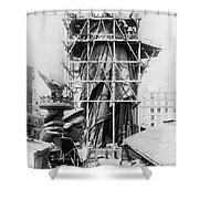 Statue Of Liberty, C1883 Shower Curtain