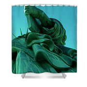 Statue Of Liberty New York City Shower Curtain