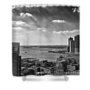 Statue Of Liberty View Shower Curtain