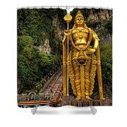Statue Of Murugan Shower Curtain