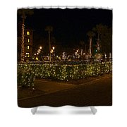 St.augustinelights1 Shower Curtain by Kenneth Albin
