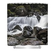 Stave Falls Shower Curtain