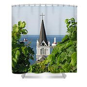 Ste. Anne's Steeple Shower Curtain