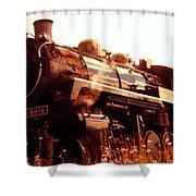 Steam Engine 3716 Shower Curtain