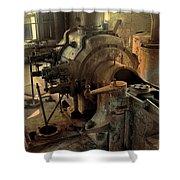 Steam Engine No 4 Shower Curtain by Robert G Kernodle