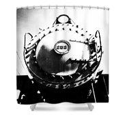Steam Locomotive #253 Shower Curtain