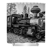 Steam Locomotive 5 Shower Curtain