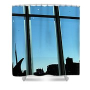 Steam Pipe Explosion Shower Curtain