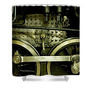 Steam Power I Shower Curtain