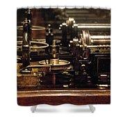 Steam Punk - Diy Typewriter Shower Curtain