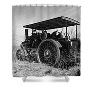 Steam Tractor Shower Curtain