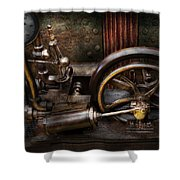 Steampunk - The Contraption Shower Curtain