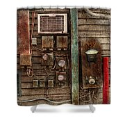 Steampunk - The Future  Shower Curtain by Mike Savad