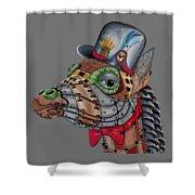 Steampunk G Shower Curtain